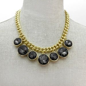 Jewelry - Chunky Gold-Tone Curb-Chain Link Necklace